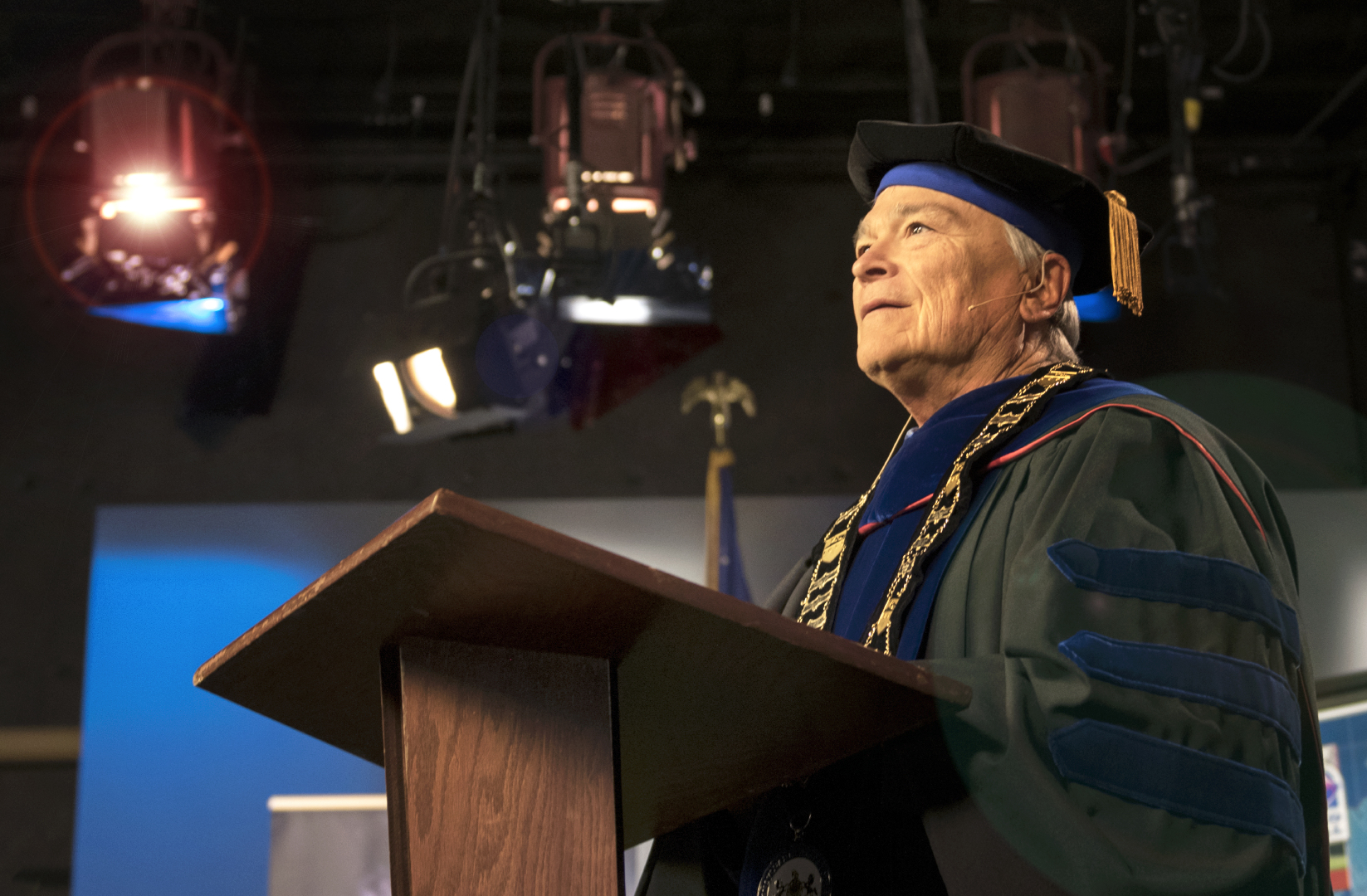 President Barron virtual commencement