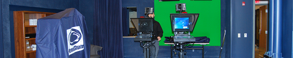 Communications TV studio at Penn State Altoona