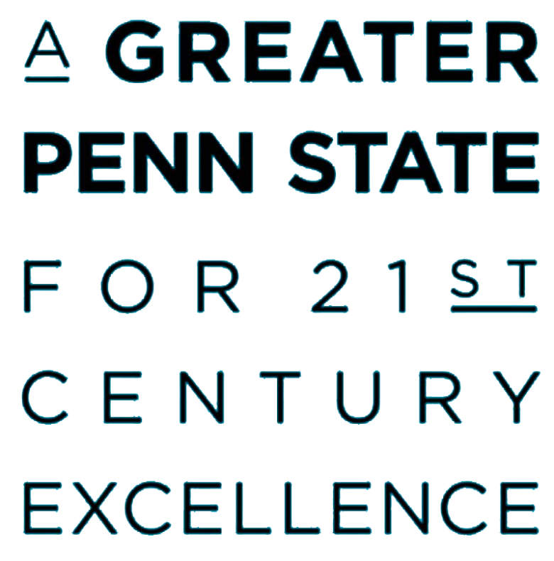 A Greater Penn State for 2st Century Excellence
