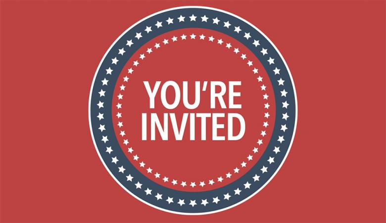 Presidents' Day - You're Invited