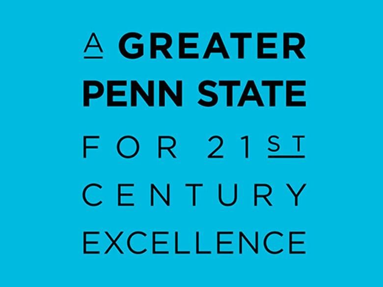 A Greater Penn State Logo