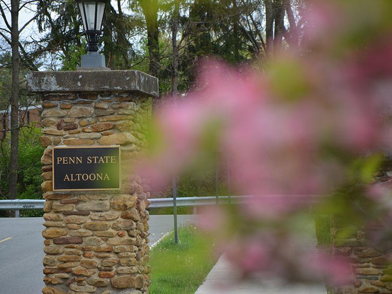 Penn State Altoona Ivyside Entrance