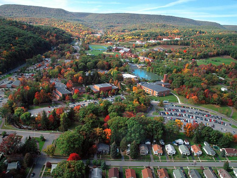 Penn State Altoona Aerial Photo