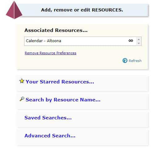 A screen capture showing how to add an event to Penn State Altoona's online calendar via 25Live