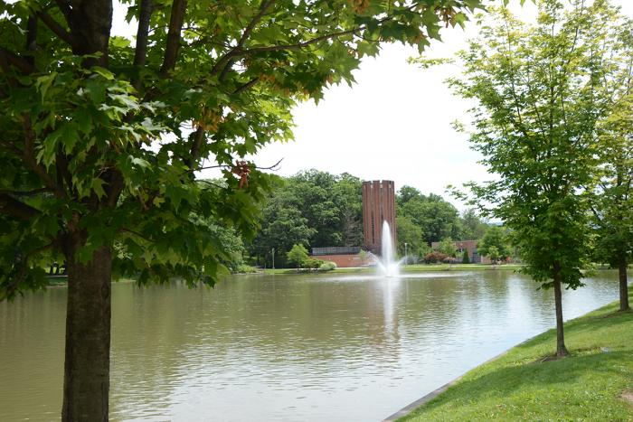 Reflecting Pond and Fountain