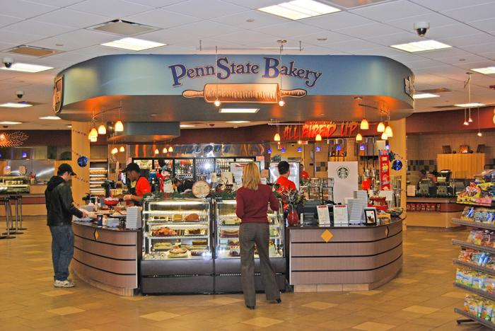 Port-Sky Cafe Penn State Bakery Station