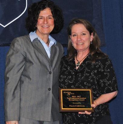 Dr. Lori J. Bechtel-Wherry and Tracie Cobb Irvin