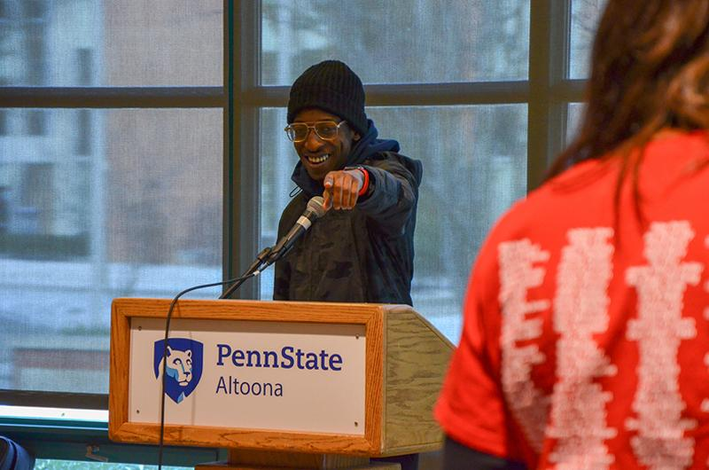 A performance at the 2017 African American Read-In