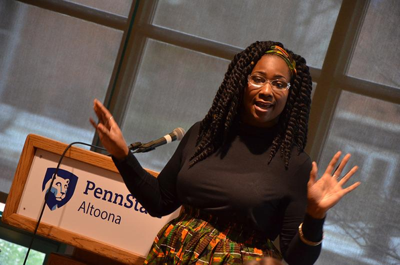 A presentation at the 2017 African American Read-In
