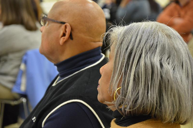 Audience members enjoy the 2017 MLK Reflection Luncheon