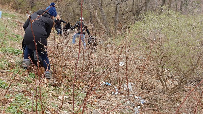 Spring Run and Nittany Pointe Cleanups