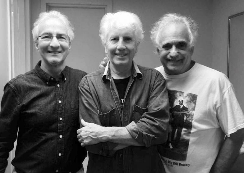 Frank Christopher, Graham Nash, and Jerry Zolten