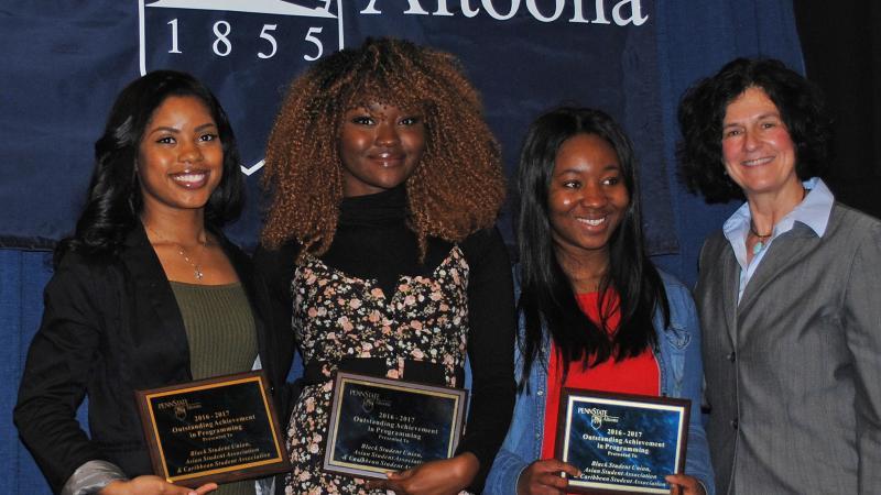 Student Fashion Show Award Recipients