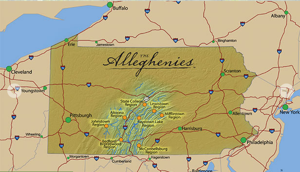 The Alleghenies