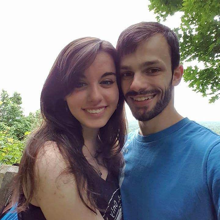 Ashley Schreyer with Matthew Geishauser