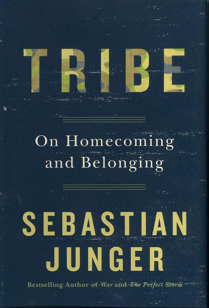 "Book Cover: ""Tribe"" by Sebastian Junger"