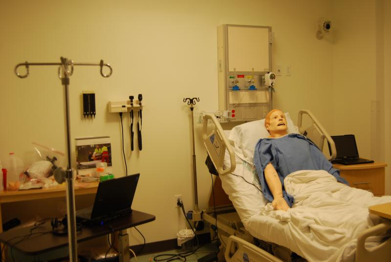 Nursing Simulation Lab, Aaron Building