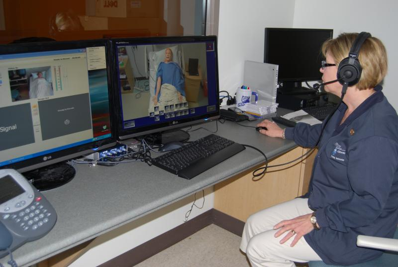 Nursing Faculty Observation Room, Aaron Building