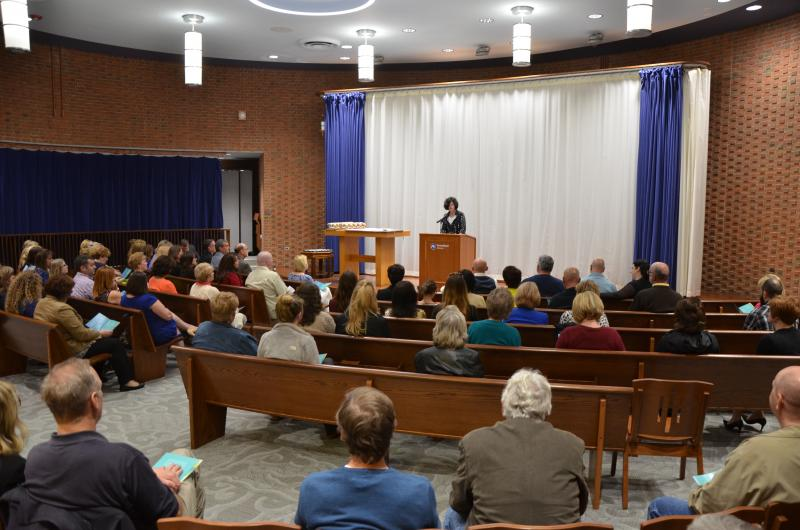 Lori J. Bechtel-Wherry offers opening remarks