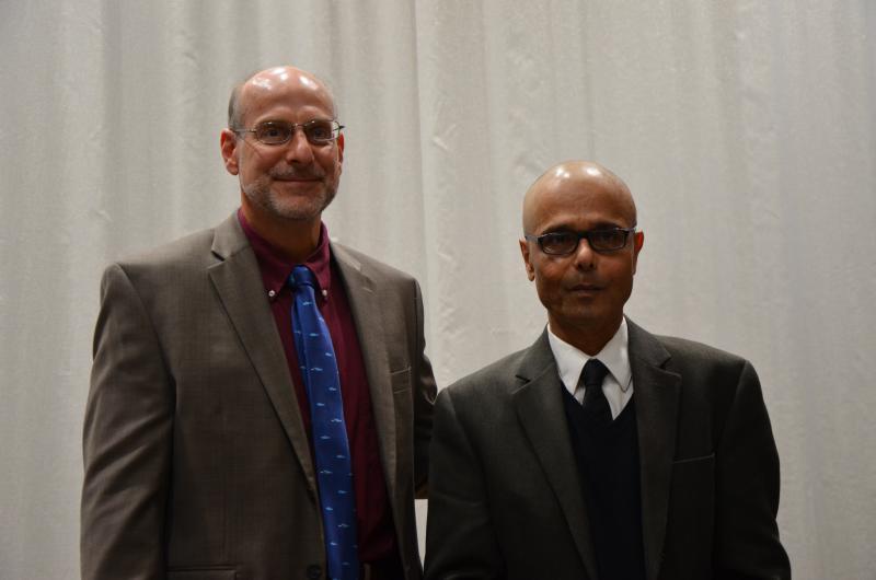 Ed Levri and Pinaki Das