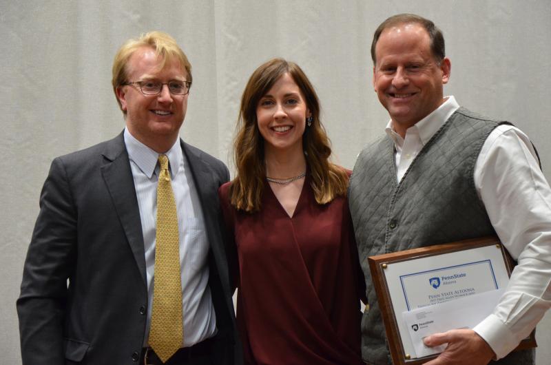 Peter Moran, Rebecca Moran, and Todd Davis