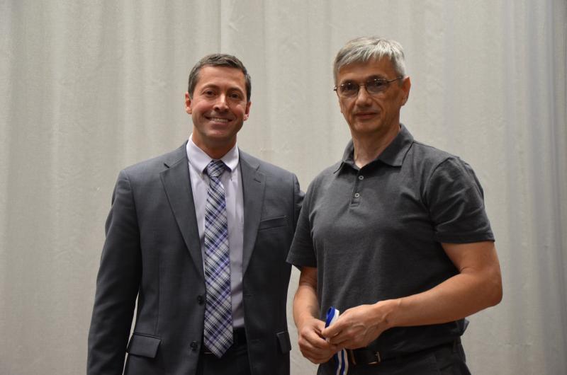 Darin Zimmerman and Wojciech Dorabiala