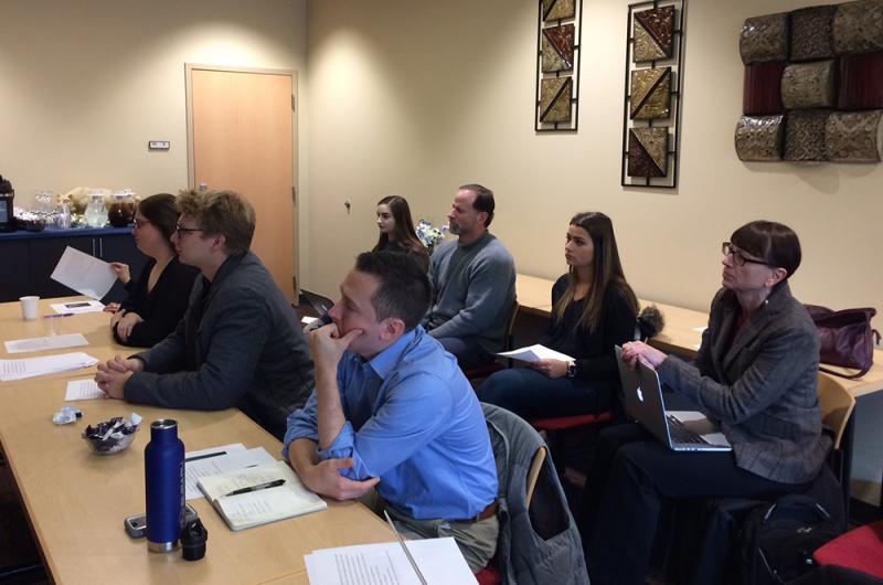 English Majors Present Senior Seminar Projects