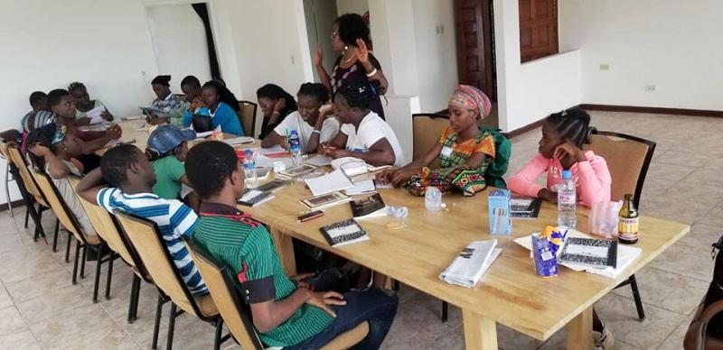 First workshop, Monrovia, June 2019