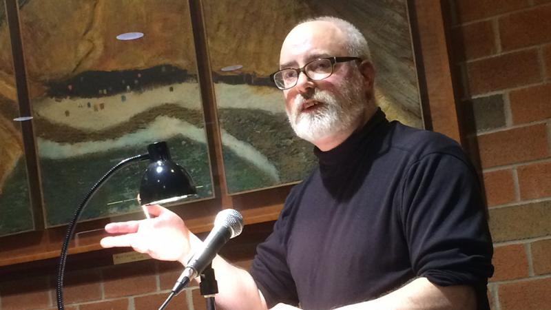 Poety Dave Bonta reading from his work