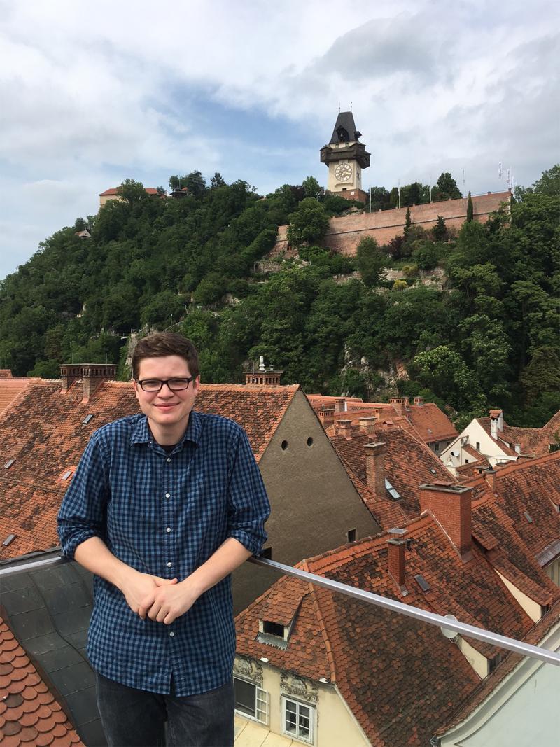 Matt Adams abroad in Austria