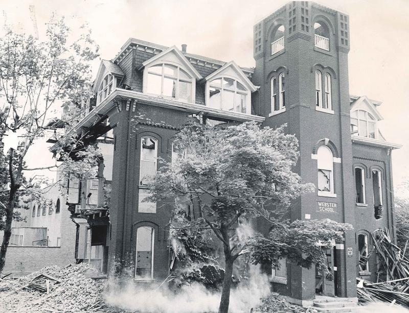 Webster School Building