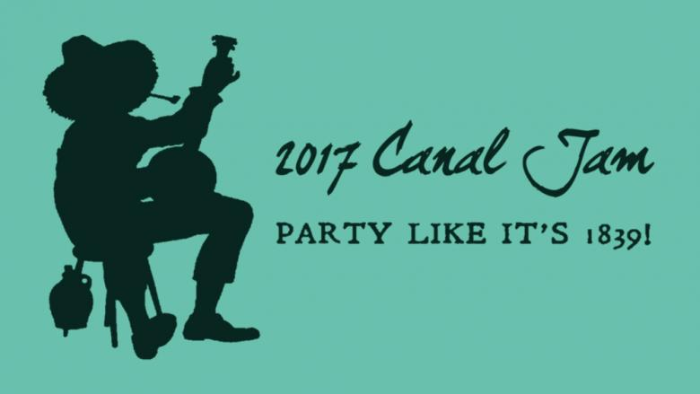Canal Jam 2017. Party Like it's 1839