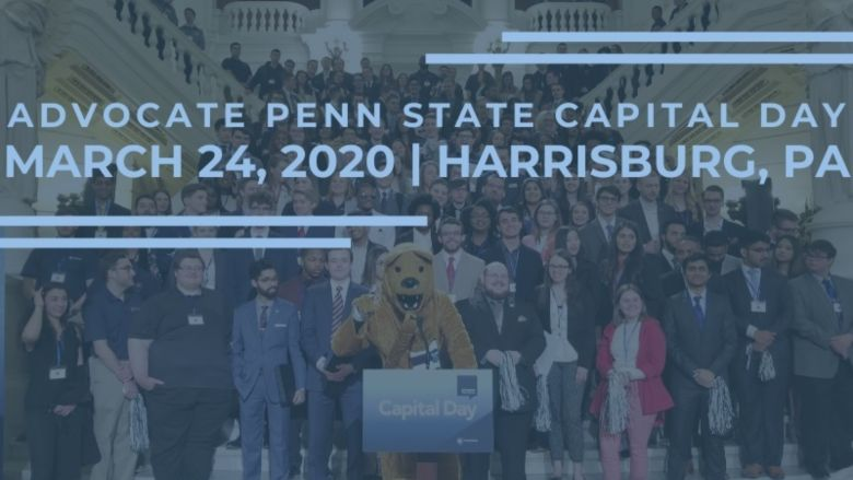 Advocate Penn State Capital Day. March 24, 2020, Harrisburg, PA