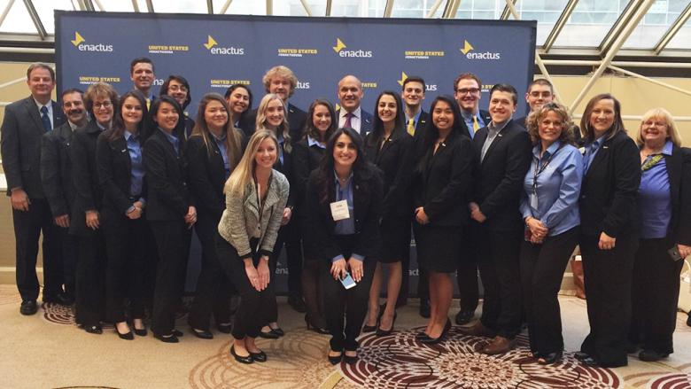 Penn State Altoona Enactus students, alums, and advisors