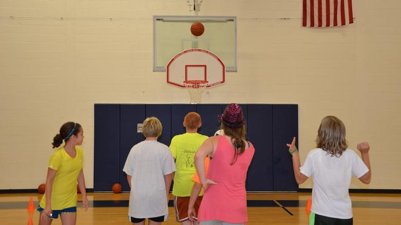 Penn State Altoona Kids College Basketball Camp