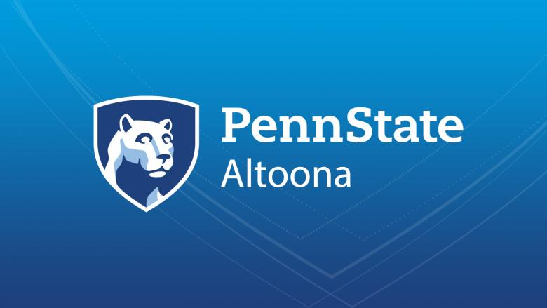 Penn State Altoona Mark with Community Shield