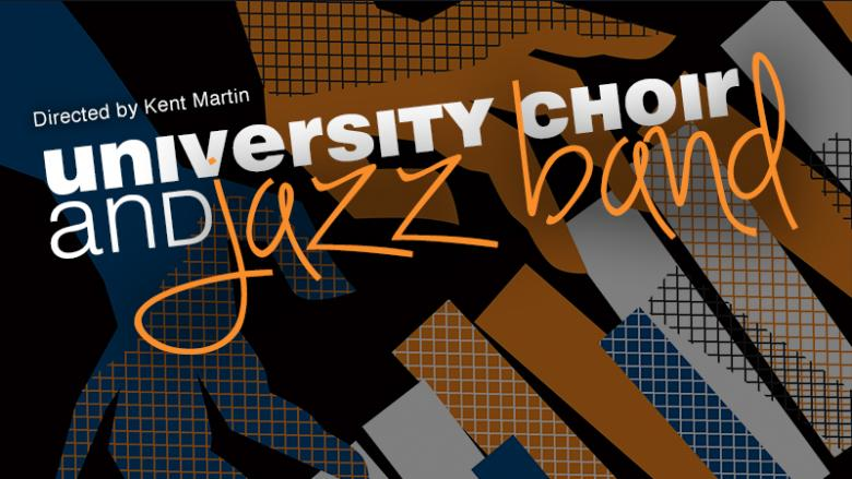 Altoona University Choir and Jazz Band spring 2019 artwork