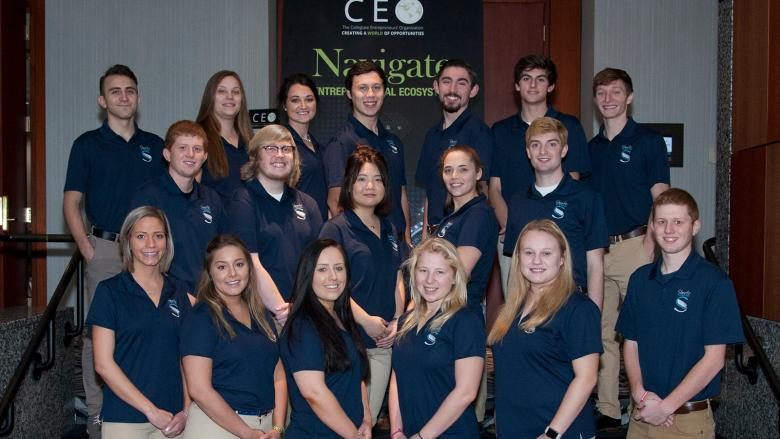 Sheetz Fellows at the 2018 National Collegiate Entrepreneurs' Organization Conference