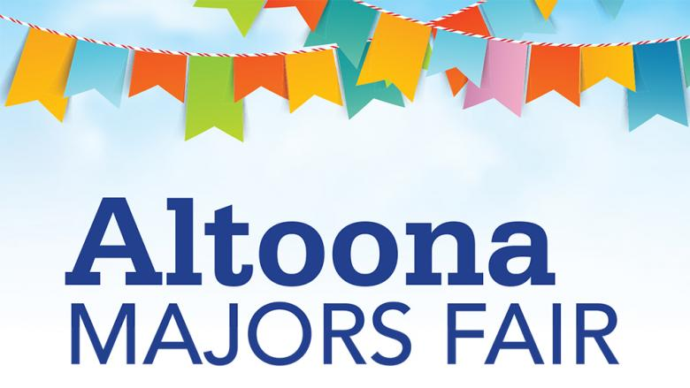 Altoona Majors Fair Logo