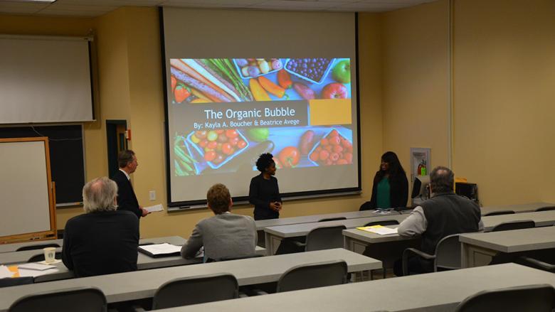 Pechter Business Plan student presentation