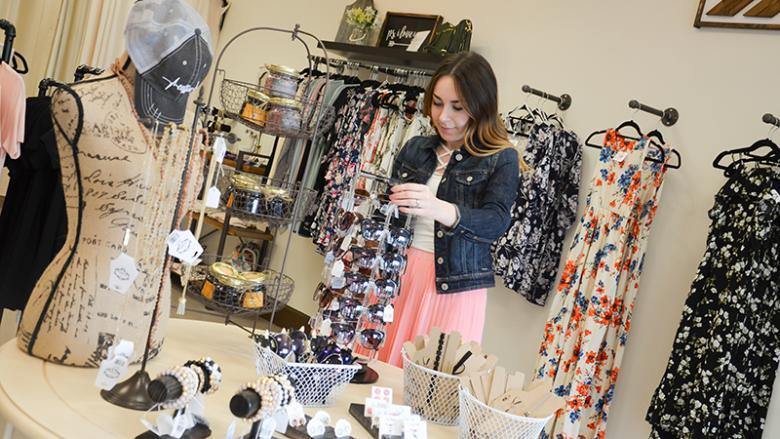 Jessica Henri at Fox Hollow Boutique
