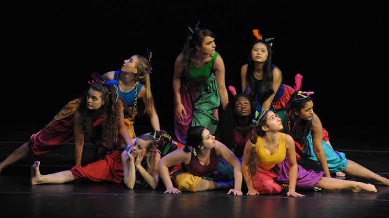 Ivyside Dance Ensemble company performs