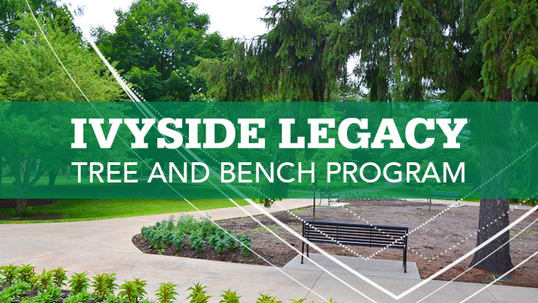 Ivyside Legacy Tree and Bench Program