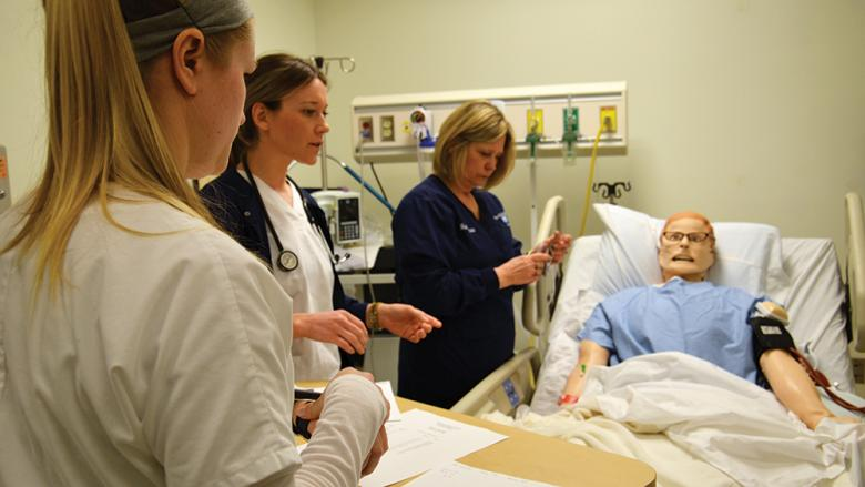 Nursing Simulation Lab Photo