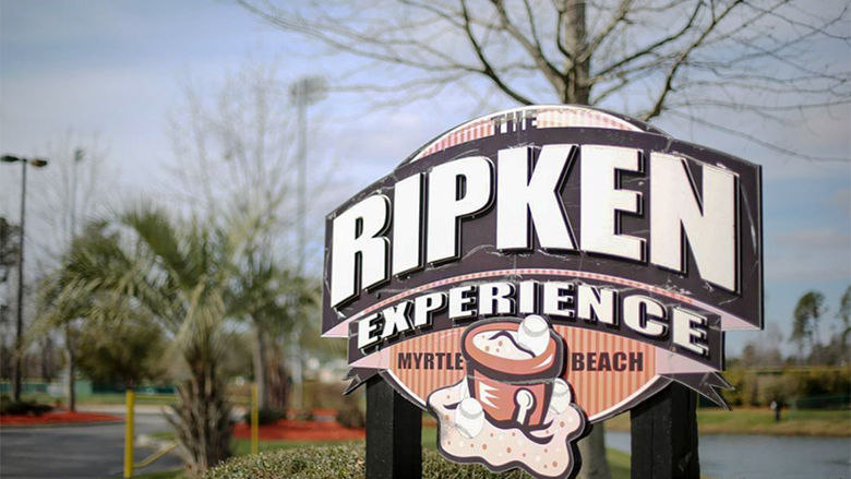 The Ripken Experience Sign
