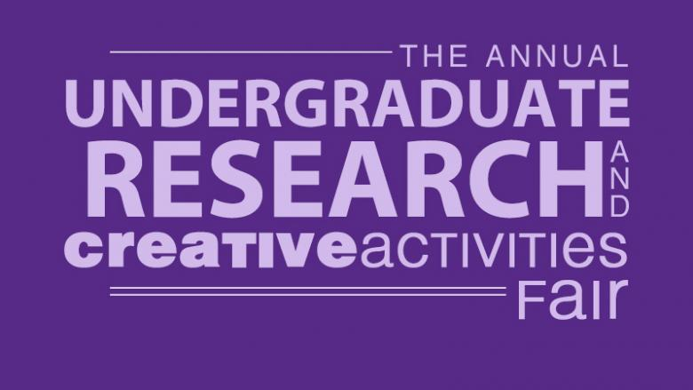 Undergraduate Research and Creative Activities Fair tag