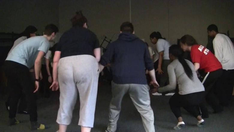 Theatre 208 students explore African theatre