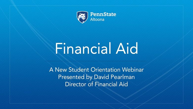 Financial Aid NSO Webinar