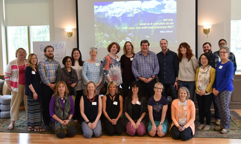 Educators from 7 Penn State campuses and the University of Virginia attend the 2019 Human Flourishing Summer Teaching Institute