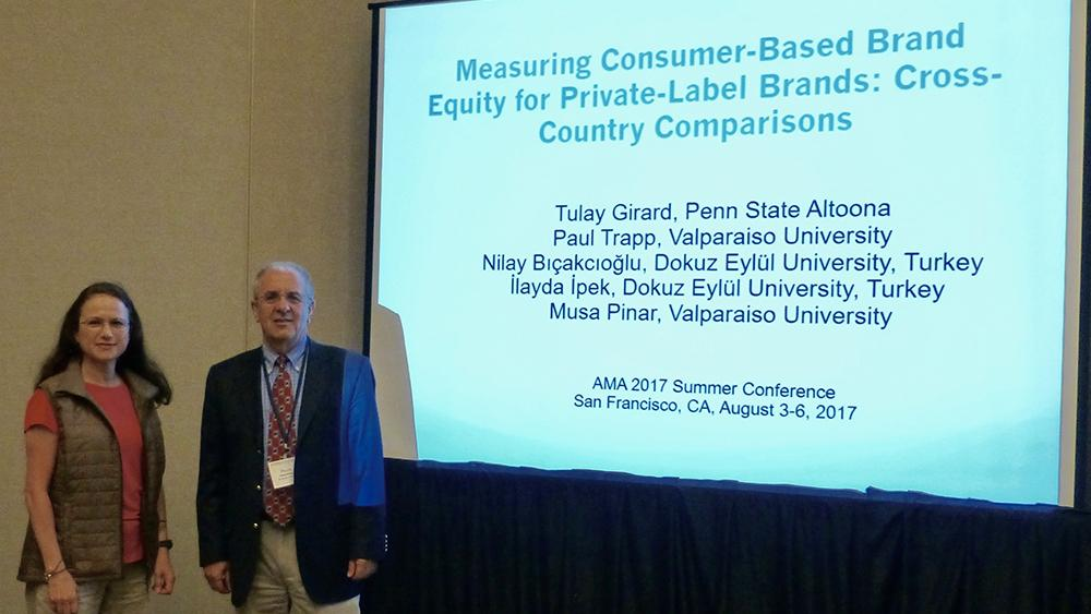 Tulay GIrard at 2017 Summer American Marketing Association Conference